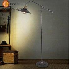 Vintage Floor Metal Lamp With Shade,Bedside Floor Lamp For Bedroom,Living Room,LED Floor Lamps