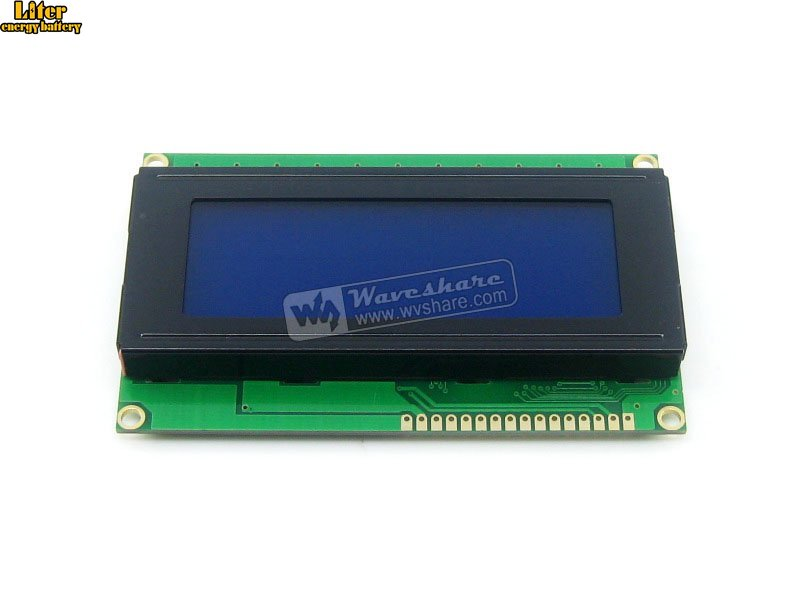 Original 5V LCD 2004 LCD Module 20x4 20*4 Character LCM Display TN/STN Blue Backlight White Character With HD44780 / KS0066 IC