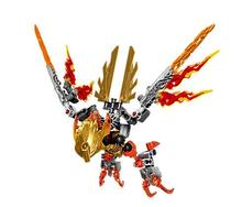 Bevle XSZ 609-4 Биохимического Воин Бионикл Ikir Существо из Огнеупорного Кирпича Игрушка Строительные Блоки, Совместимые с Лепин 71303 игрушки