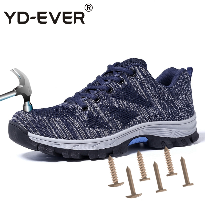 YD-EVER Big Size Safety Shoes For Men