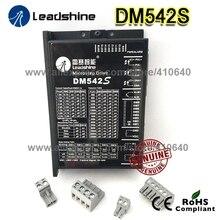 Новое поступление Leadshine DM542S Обновлено от DM542 с более сильной функцией защиты от помех более устойчивый шаговый привод 48VDC 4.2A