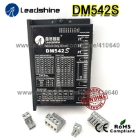 New Arrival Leadshine DM542S Updated from DM542 WITH STRONGER ANTI INTERFERENCE FUNCTION MORE STEADY Stepper Drive 48VDC 4.2A|stepper drive|leadshine dm542leadshine stepper -