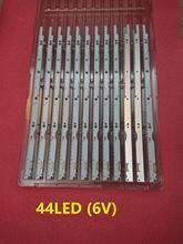 Новинка, 5 шт./лот 44 Светодиодный * 6V светодиодный полосы для samsung UA32ES5500 UE32ES6100 S светодиодный 2012svs32 7032nnb 2D V1GE-320SM0-R1 32NNB-7032 светодиодный-MCPCB
