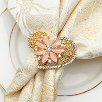 20 / PCs hotel restaurant for exquisite high end napkin ring mouth cloth ring napkin ring mat ring