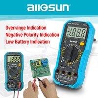 all sun EM8910 Digital Multimeter Multi tester Backlight AC/DC Ammeter Voltmeter Ohm Portable Meter voltage meter