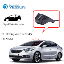 купить For KIA K3 / Car Wifi DVR Mini Camera Driving Video Recorder Black Box / Novatek 96658 Registrator Dash Cam Night Vision по цене 4246.55 рублей