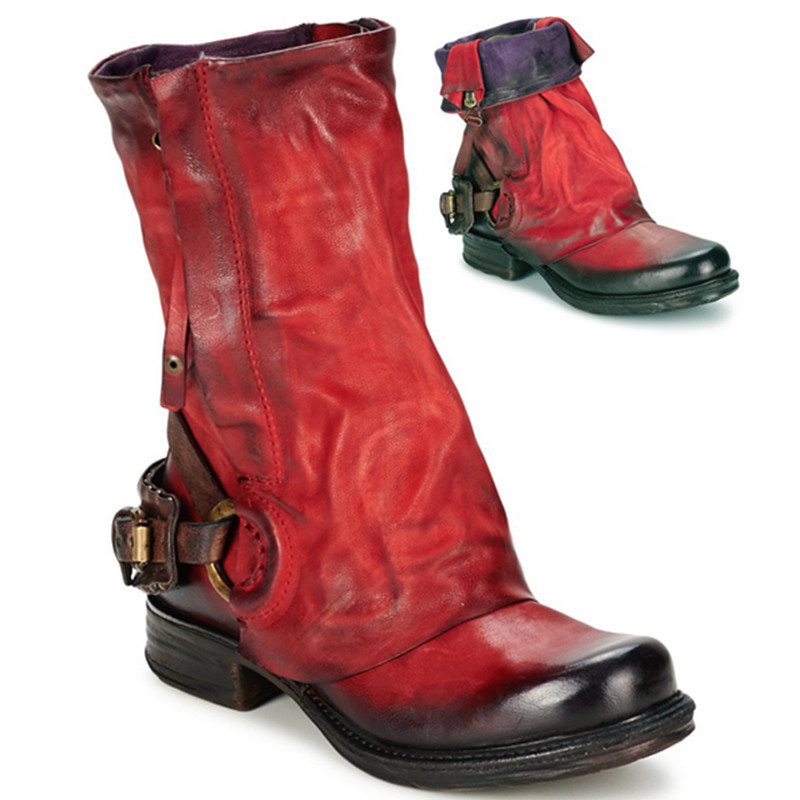 Compare Prices on Italian Leather Womens Boots- Online Shopping ...