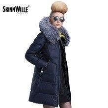 Skinnwille 2016 femmes manteau à capuchon chaud ultra lumière vers le bas d'hiver vers le bas veste femmes court hiver manteau femmes vers le bas veste femmes