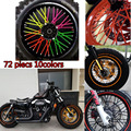 Dirt Bike Enduro Off Road Wheel RIM Spoke Skins covers for KTM 125 250EXC KX HONDA 125 SUZUKI 250 YAMAHA 450 WR250 YZ YZF WR 250