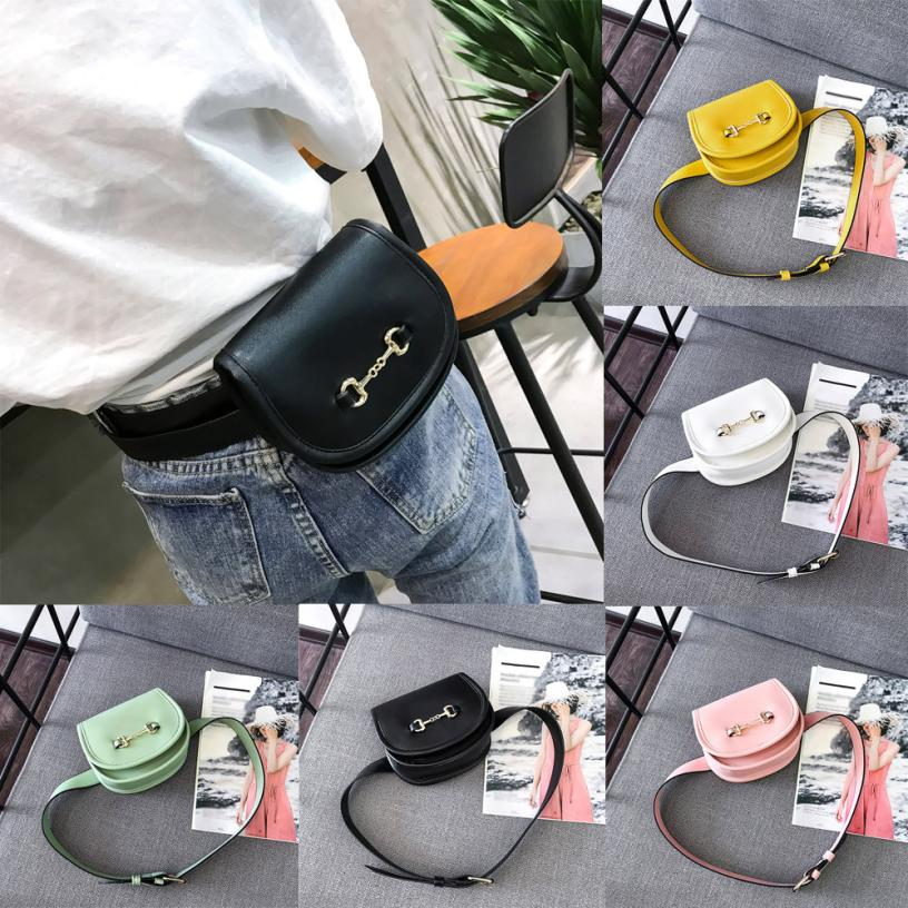 MOLAVE Waist Packs Fashion Leather Pure Color Flip Cover Outdoor Chest Bag high quality Hasp waist packs small AP23