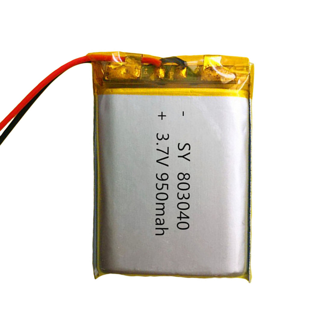 For MP4 MP5 GPS PSP 1PC <font><b>3.7V</b></font> <font><b>950mAh</b></font> 803040 Lithium Polymer Li-Po ion Rechargeable <font><b>Battery</b></font> For Mobile Pocket PC e-books Bluetooth image