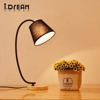 Modern Lighting Wooden Desk Lamp Dining Room Bedroom Mirror Light Cabinet Luminaria Lamparas Restaurant Lamp