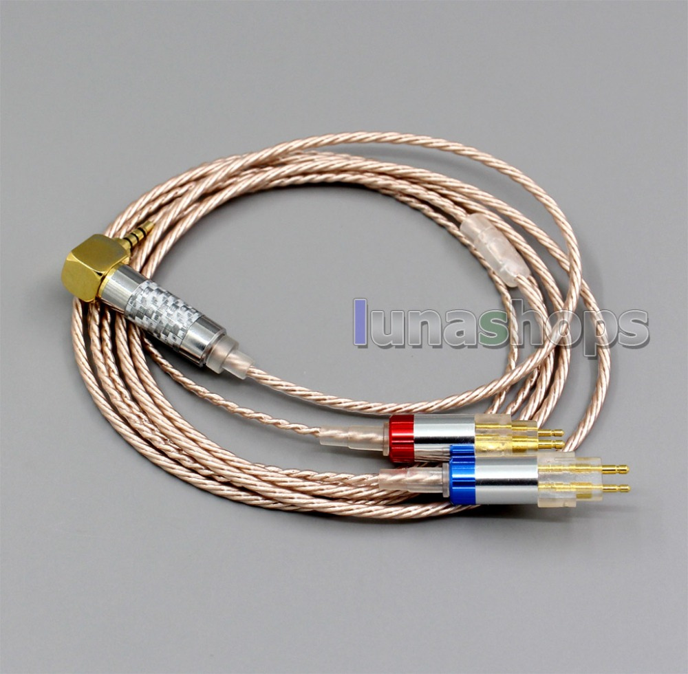 LN006375 Hi-Res Silver Plated XLR 3.5mm 2.5mm 4.4mm Earphone Cable For Sennheiser HD580 HD600 HD650 HDxxx HD660S