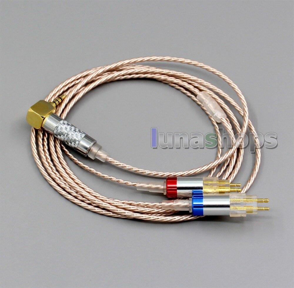 LN006375 高解像度シルバーメッキ XLR 3.5 ミリメートル 2.5 ミリメートル 4.4 ミリメートルイヤホンケーブルゼンハイザー HD580 HD600 HD650 HDxxx HD660S  グループ上の 家電製品 からの イヤホン用アクセサリー の中 1