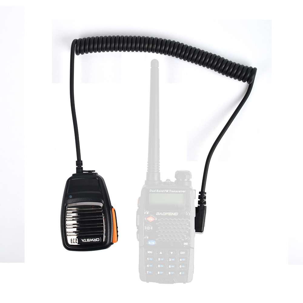2pcs HYS TC-R02 Convenient durable to use double hand-held radio intercom multi-function hand-held telephone forTK-430 TK-431