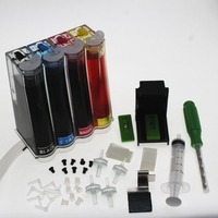 full ink DIY Ciss Ink kit for HP 122 122XL ink Cartridge For HP Deskjet 1000 1050 1050A 1510 2000 2050 2050A 3000 3050 3050A