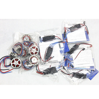 Hobbywing Platinum 30A Pro 2 6S 30A Speed Controller ESC + 750KV Brushless Disk Motor high Thrust With Mount