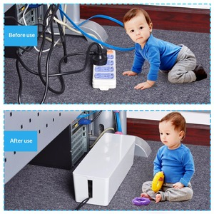 Image 4 - ORICO PB3218 fireproof Socket Storage Boxes  storage box desk  Dustproof Protection holder Safety Socket