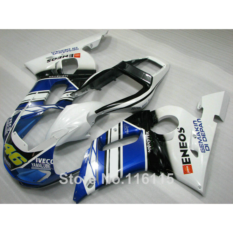 Fit for YAMAHA R6 fairing kit 1998 1999 2000 2001 2002 white black blue YZF R6 fairings set 98 99 00 01 02 full kits NX01
