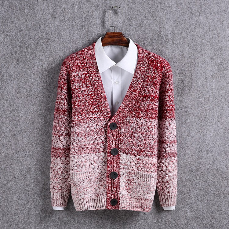 High Quality Mens Sweater New 2015 Autumn Winter Patchwork Cashmere Wool Cardigan Men Sweater Brand Casual V-Neck Mens Clothing (15)
