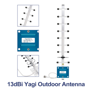 Image 5 - GSM LTE 1800 LCD 70dB Gain 2g 4g band3 Cell Phone Signal Repeater DCS 1800MHz Mobile Amplifier GSM Signal Booster + Antenna