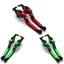 for KAWASAKI VERSYS 1000 VULCAN/S 650cc  with logo CNC Motorcycle Folding Extendable Adjustable Brake Clutch Levers