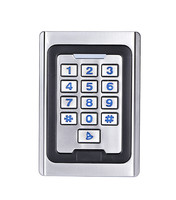 Metal Door Access Control Waterproof Metal Case Access Controller RFID Reader With Keypad