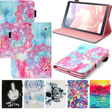 Tablet T810 T815 Funda For Samsung Galaxy Tab S2 9.7 inch Fashion Mandala Leather Flip Wallet Case Cover Coque Shell Skin Stand