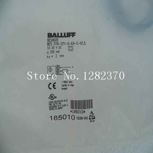 US $114 98 19% OFF|[BELLA] New original special sales BALLUFF sensor BES  516 371 G E4 C 01,5 spot-in Sensors from Electronic Components & Supplies  on