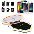 New 3 Induction Coil Qi Wireless Charger Charging Pad with Qi Receiver for Samsung Galaxy S3 S4 S5 Note 2 Note 3 Note 4