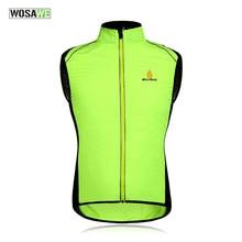 Hot Unisex Reflective Cycling Vests Sleeveless Breathable Waistcoat Cycling Jackets Road MTB Bicycle Running Top Clothing