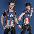 Детские Подростками Детей 3D Hero T Рубашка Мальчик Спорт Футболка Паук Бэтмен супермен Железный Человек Печати Марка Дизайн Топы Стретч тройники