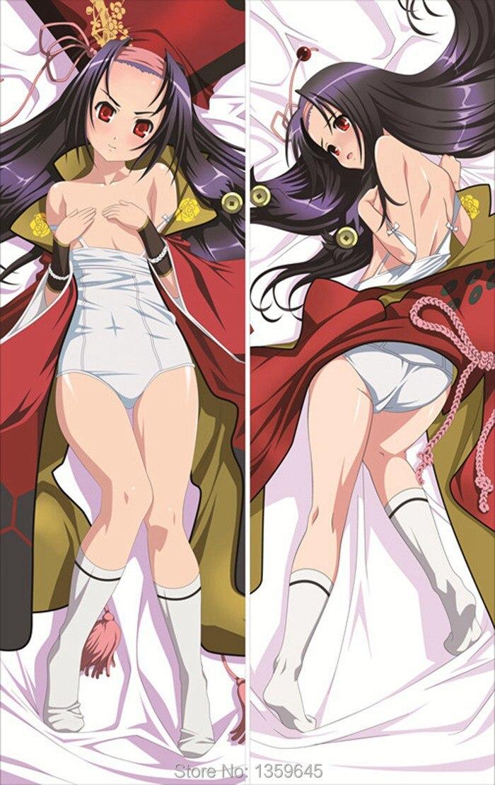 samurai girl anime pillow Sexy