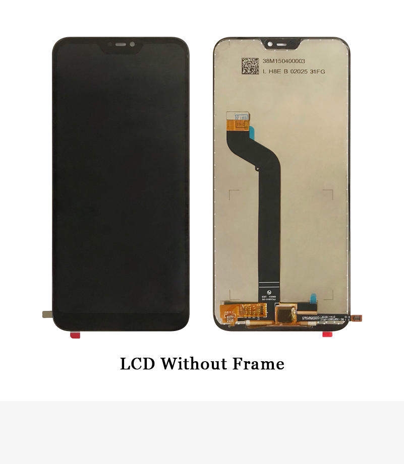 """HTB1P96USSzqK1RjSZFLq6An2XXa5 5.84"""" AAA Quality IPS LCD+Frame For Xiaomi Mi A2 Lite LCD Display Screen Replacement For Redmi 6 Pro LCD 2280*1080 Resolution"""