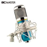 Professional BM800 Condenser Microphone For Computer Cardioid Audio Studio Vocal Recording Mic KTV Karaoke Microphone