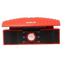 VOLA 멀티 스키 스노우 보드 각도 베벨 파일 가이드 튜너 A ICECUT 파일 포함 각도 0 ~ 5도