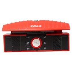 VOLA Multi Ski Snowboard Winkel Seite Bevel Datei Guide Tuner EINE ICECUT Datei Enthalten Einstellbare Winkel 0 ~ 5 grad