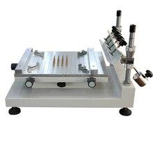 Solder paste printer manual  silkscreen printer red glue printing machine ZB3040H