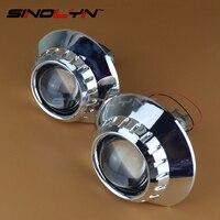 For BMW ZKW M3 E46 Non Projector Headlight Retrofit Tuning 2 5 HID Bi Xenon Projector
