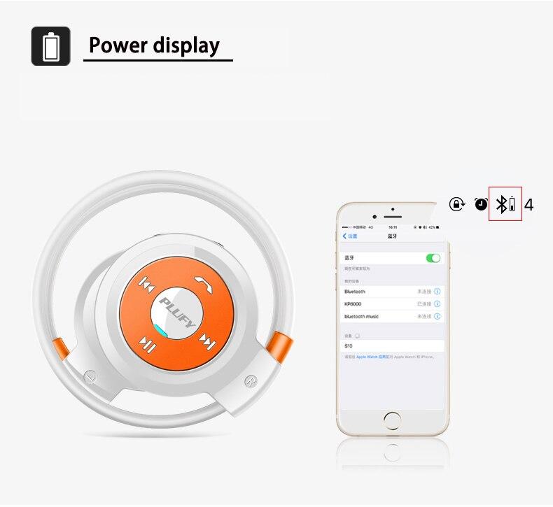 Esporte Fone De Ouvido Bluetooth Apoio TF