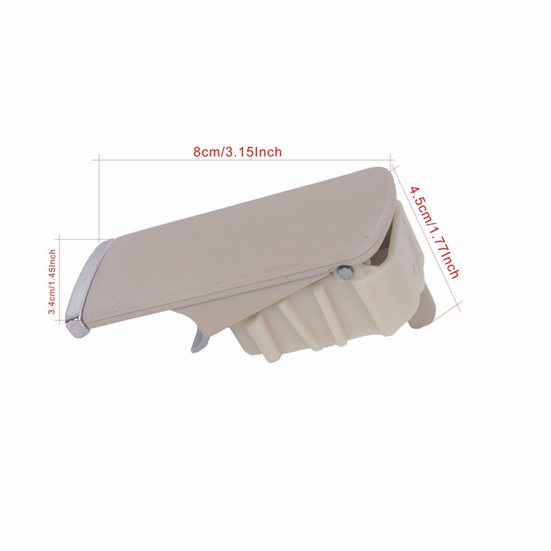 Glove Box Lock Lid Handle No Keyhole Beige For Audi A4 B6 B7 8E2857131 Car Styling (4)