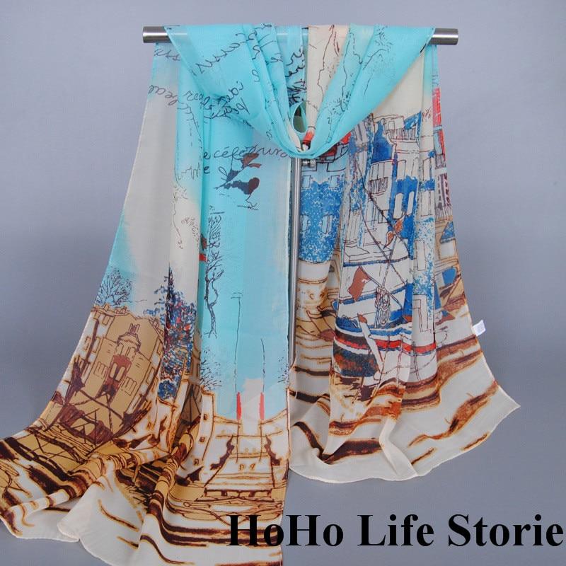 WY3 160*50cm high quality fashion women Scarves big size scarf of women Beach printing shawls muslim hijab