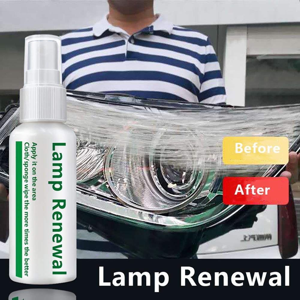 Car Headlight Repair Liquid Lamp Retreading Agent Eliminates Scratches Solves The Problems Of Yellowing Oxidizing Blurred