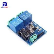 DC 5V 2 CH Relay Module Based ESP8266 ESP-01 ESP01 WIFI Wireless Board Relay Shi