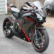Пользовательские Обтекатели мотоцикла для HONDA CBR1000RR 2008 2009 2010 2011 мотор панели+ Botls+ литьевая форма серый