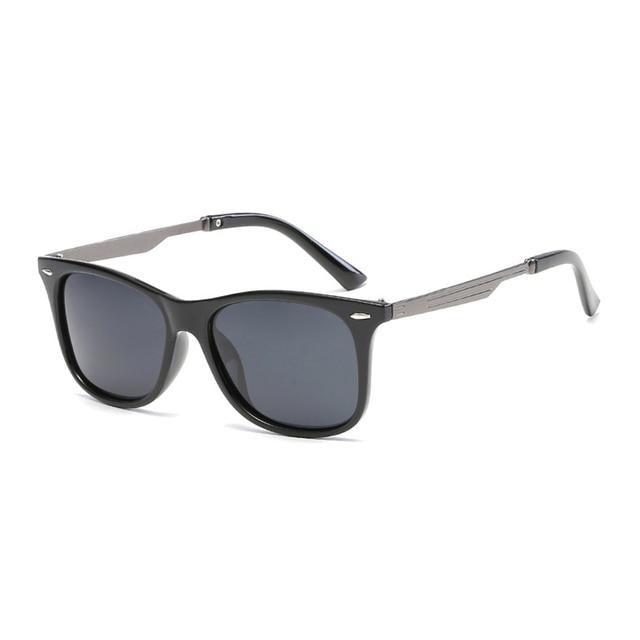 Baru Kacamata Hitam Pria Retro Vintage Klasik Berjemur Kacamata Liburan  Bepergian Kacamata Mengemudi Eyewear Fishiing Warna 775354fea8