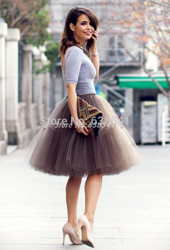 Aliexpress.com : Buy Custom Made Tulle Tutu Skirt For Women Fluffy ...