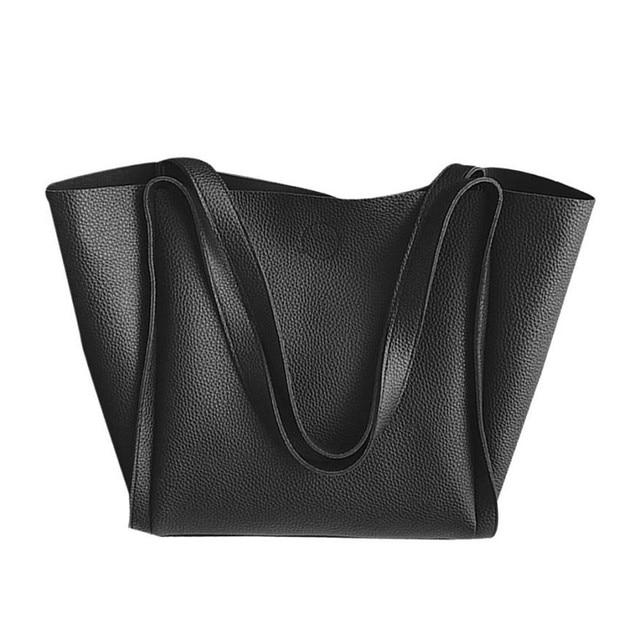 fc75258233eb Charming Best Gift Women Two Piece Shoulder Bag Top Handle Bags Fashion Messenger  Bags Handbag set