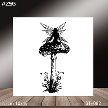 AZSG Huge mushroom Clear Stamps/Stamp/For Scrapooking/Card Making/Silicone Stamps/Decoration  Crafts