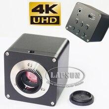 4K UHD HDMI 1080P@ 60fps FHD промышленный микроскоп Цифровая видеокамера C-Mount соединение
